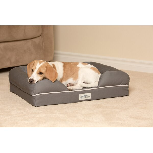 Ultimate Lounge Premium Edition Dog Bed with Solid Memory Foam by PetFusion