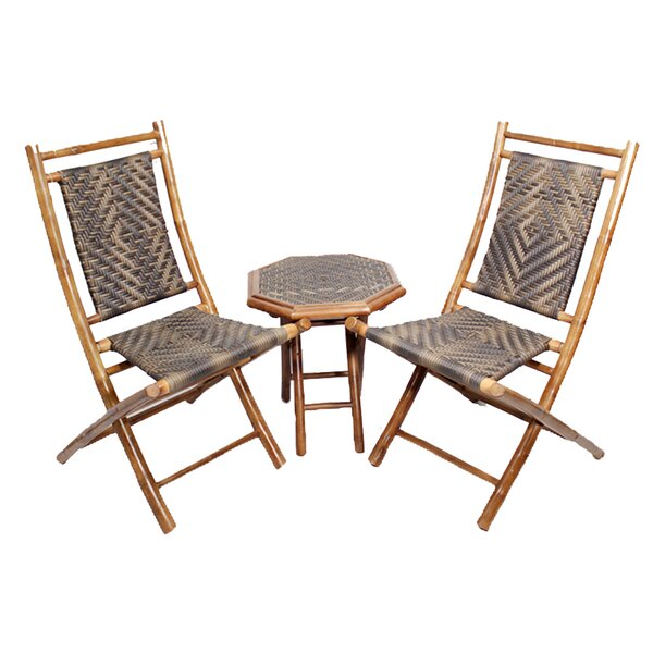 Roseman 3 Piece 2 Person Seating Group by World Menagerie