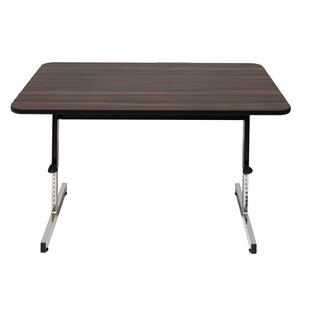 Wood Height Adjustable Standing Desk