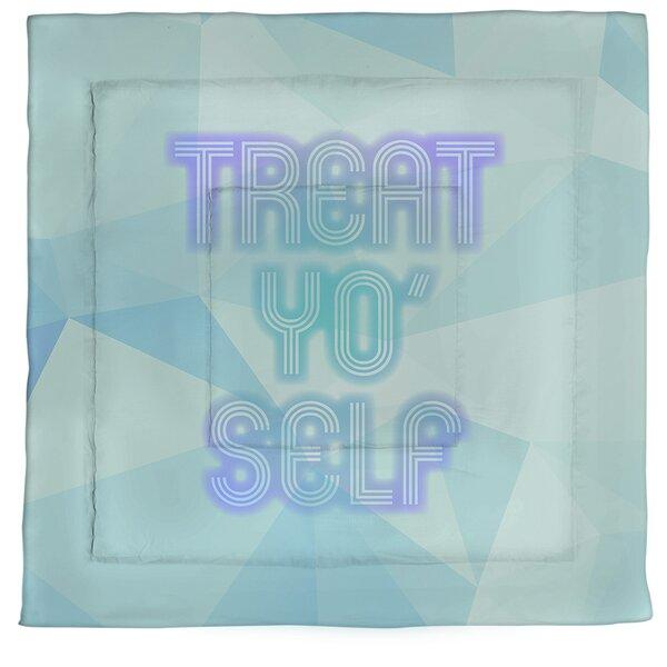 Self Care Neon Single ReversibleComforter