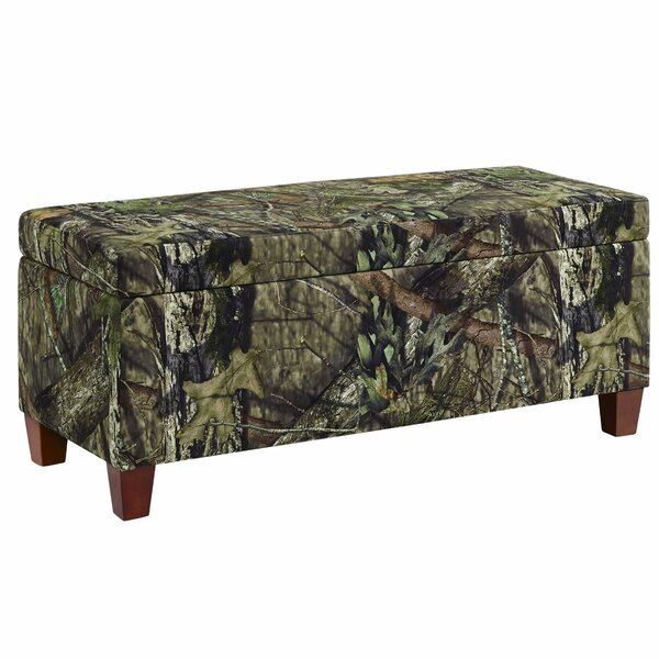 Kellyville Upholstered Storage Ottoman by Millwood Pines Millwood Pines