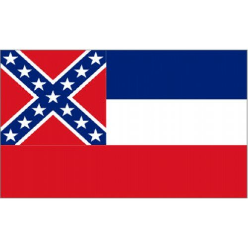 Mississippi Traditional Flag by NeoPlex
