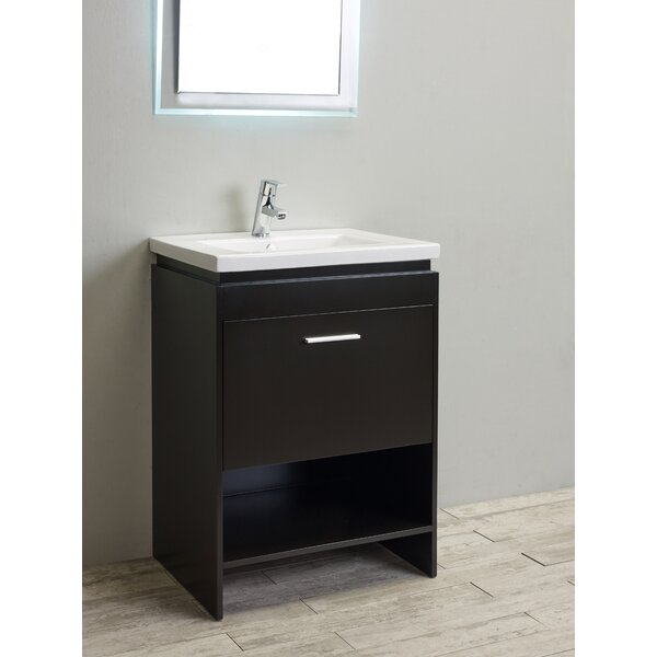 Breccan 24 Single Bathroom Vanity Set by Orren Ellis