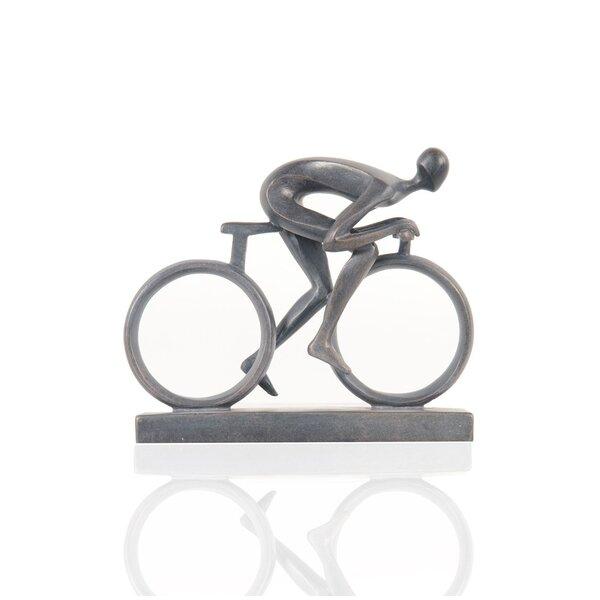Hedrick Cyclist Figurine by Winston Porter