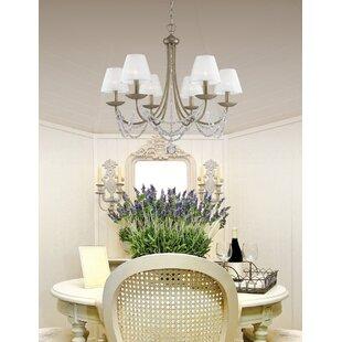 Vintage Style Kitchen Lighting Vintage kitchen lighting wayfair bilger 6 light candle style chandelier workwithnaturefo