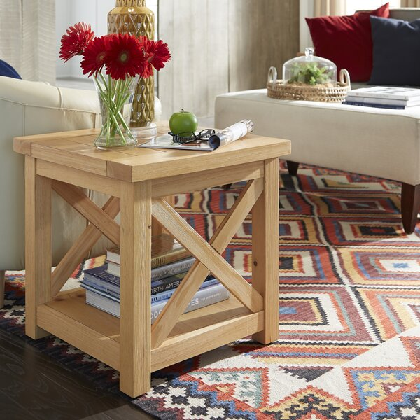 Burbury End Table by Loon Peak
