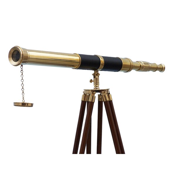 Admirals Refractor Telescope by Handcrafted Nautical Decor
