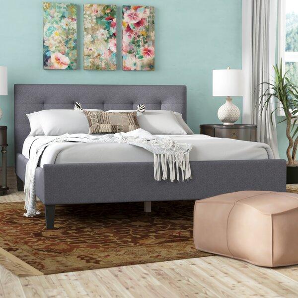 Halie Upholstered Platform Bed by World Menagerie