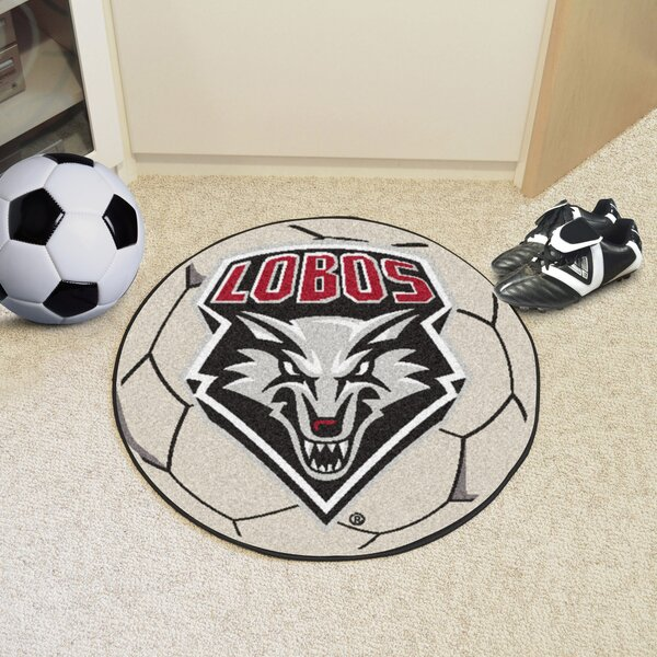 NCAA University of New Mexico Soccer Ball by FANMATS