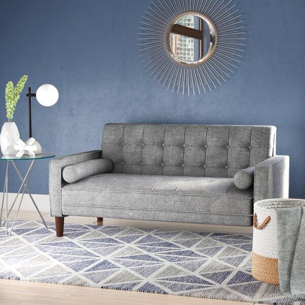 Astounding Overstuffed Loveseat Wayfair Uwap Interior Chair Design Uwaporg