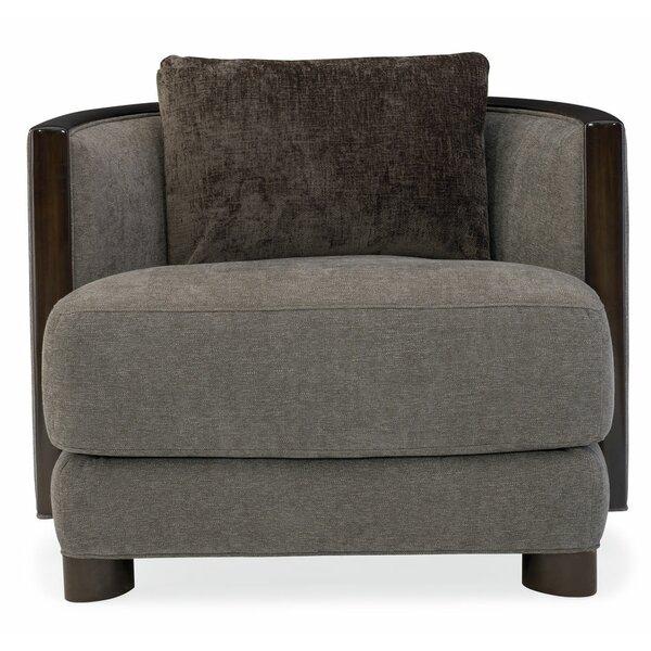 Modern Streamline Barrel Chair by Caracole Modern Caracole Modern