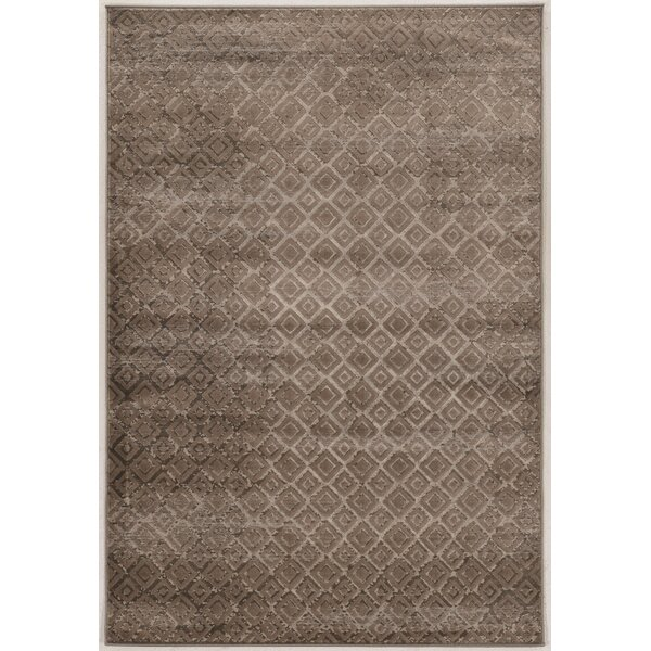 Jewell Tan Area Rug by Linon Rugs