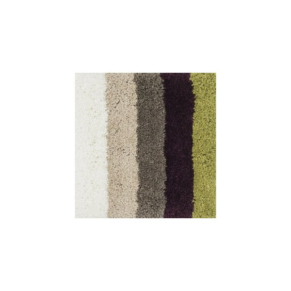 Chontos Hand-Tufted Gray/Brown/Green Area Rug by Latitude Run