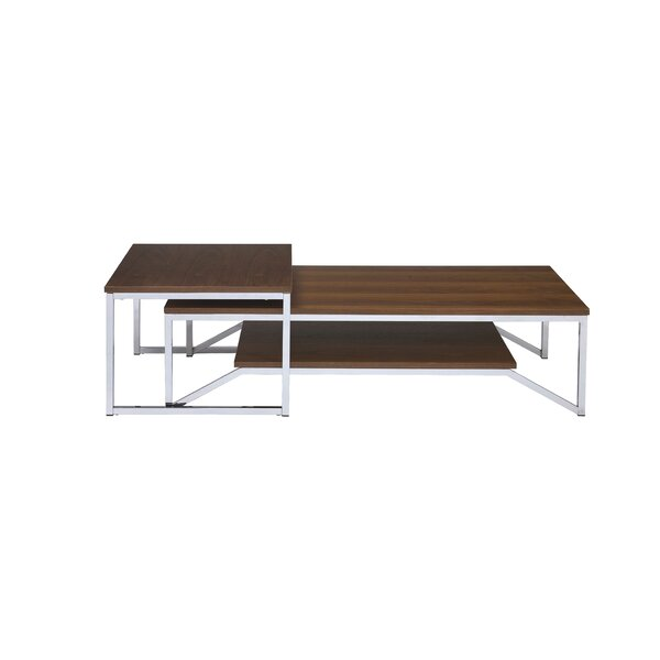 Hasler 2 Piece Coffee Table By Orren Ellis