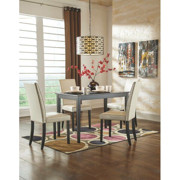 Justine 5 Piece Dining Set By Andover Mills Bargain
