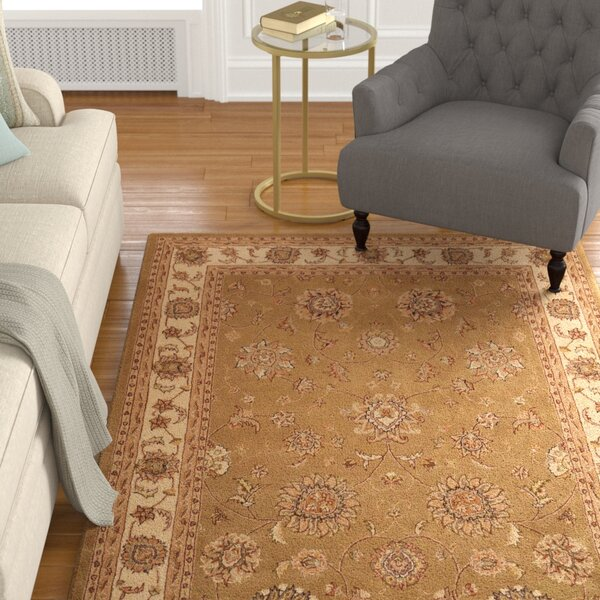 Ottoville Hand-Tufted Olive/Beige Area Rug by Darby Home Co
