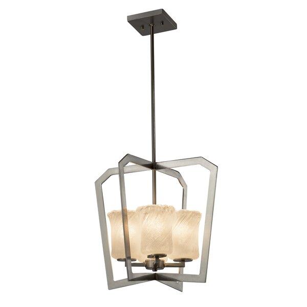 Kelli 4-Light Foyer Lantern Pendant by Darby Home Co