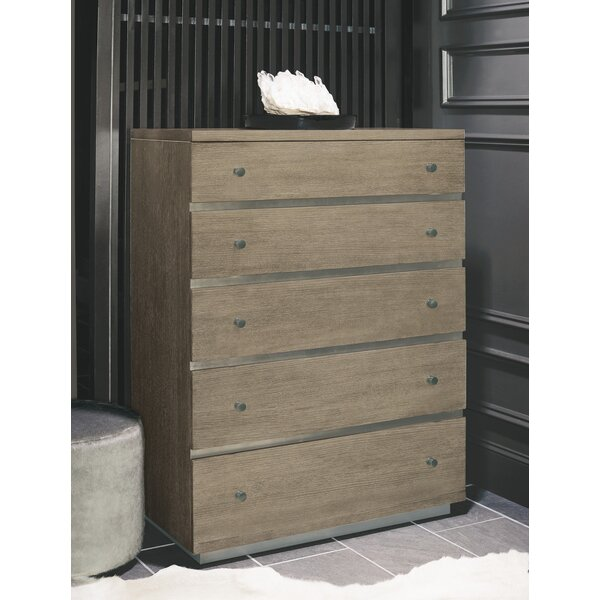 Mosaic 5 Drawer Chest by Bernhardt