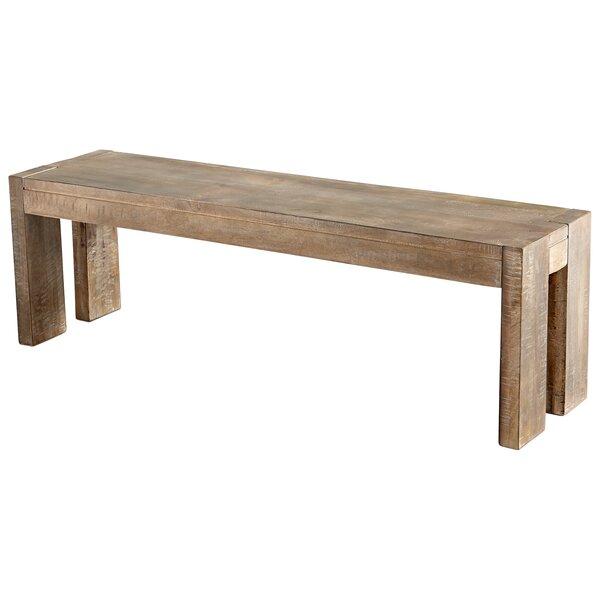 Segvoia Wood Bench by Cyan Design Cyan Design