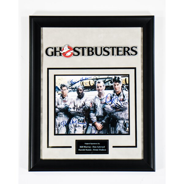 Ghostbusters Framed Autographed Photograph by LuxeWest