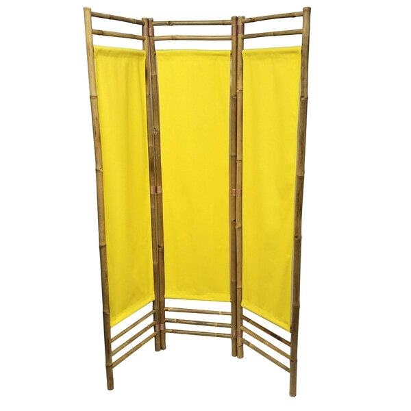 Rock 3 Panel Room Divider by Bay Isle Home