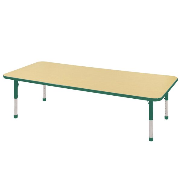 72 x 30 Rectangular Activity Table by ECR4kids