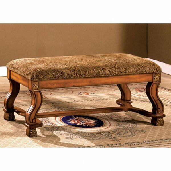 Batchtown Traditional Wood Bedroom Bench by Astoria Grand