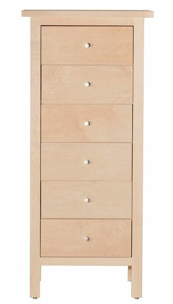 Arwood 6 Drawer Lingerie Chest by Loon Peak