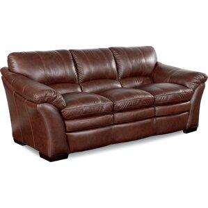 LaZBoy Sofas Youll Love Wayfair - Mahogany leather sofa