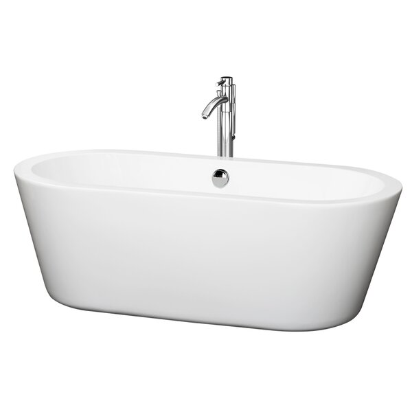 Mermaid 67 x 31.25 Soaking Bathtub by Wyndham Collection