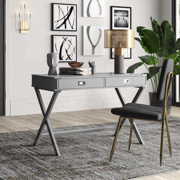 Weathered Gray Desk Wayfair