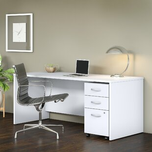 Savings Studio C 2 Piece Desk Office Suite ByBush Business Furniture