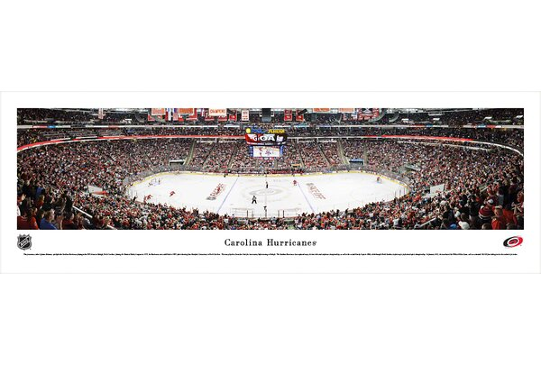 NHL Carolina Hurricanes by James Simmons Photographic Print by Blakeway Worldwide Panoramas, Inc