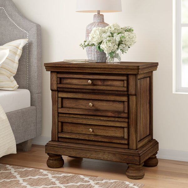 Penwortham 2 Drawer Night Stand by Three Posts