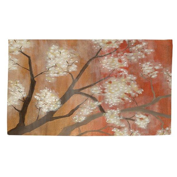 Mandarin Mist 1 Orange Area Rug by Manual Woodworkers & Weavers
