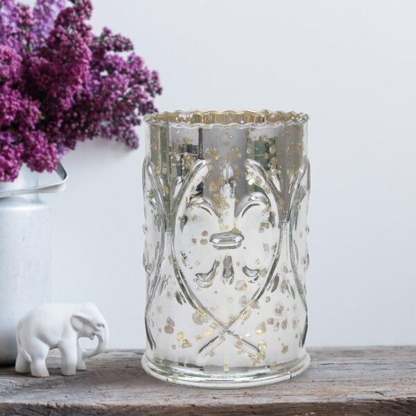 Mercury Glass Lantern Hurricane by Ophelia & Co.