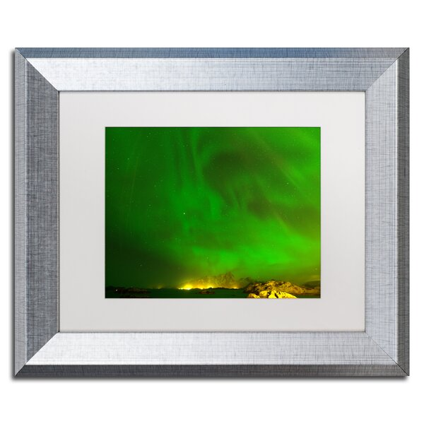 Norwegian Light by Philippe Sainte-Laudy Framed Photographic Print by Trademark Fine Art