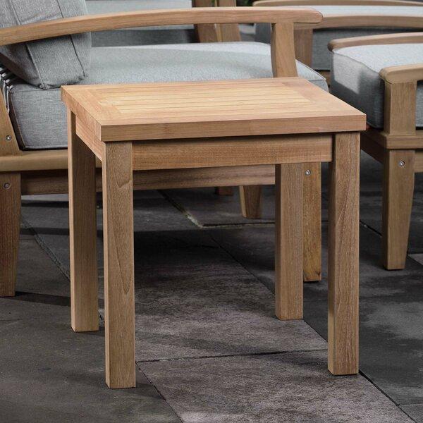 Elaina Teak Side Table by Beachcrest Home