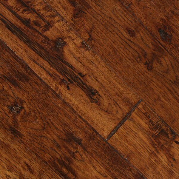 Smokehouse 4.87 Solid Hickory Hardwood Flooring in El Paso by Albero Valley