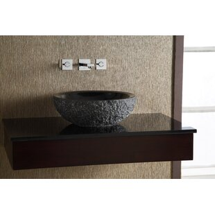 Stone Circular Vessel Bathroom Sink Ryvyr