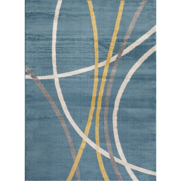 Toscana Blue Area Rug by World Rug Gallery