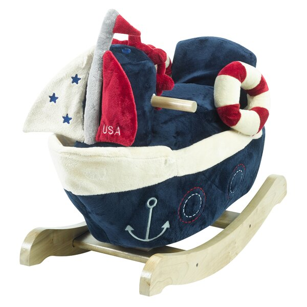 America the Sailboat Play Rocker by Rockabye