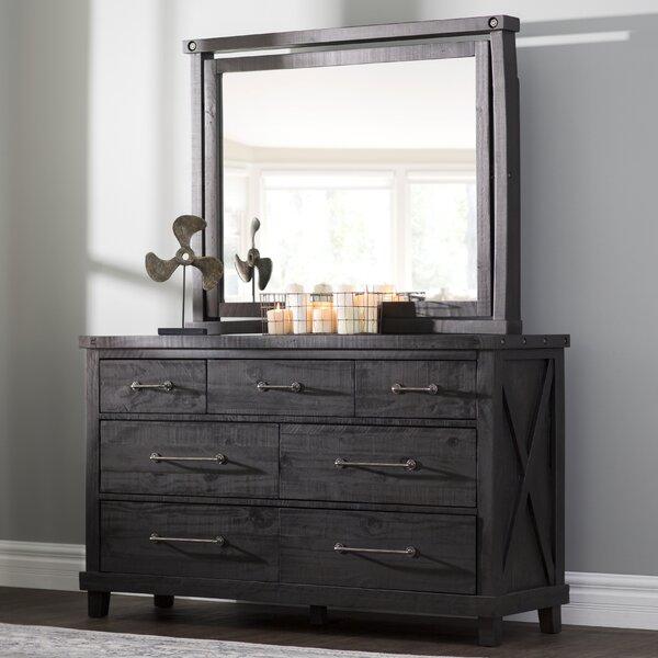 Langsa 7 Drawer Dresser with Mirror by Laurel Foundry Modern Farmhouse