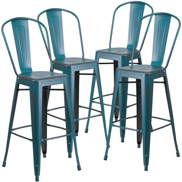 30'' Bar Stool (Set of 4) by Flash Furniture