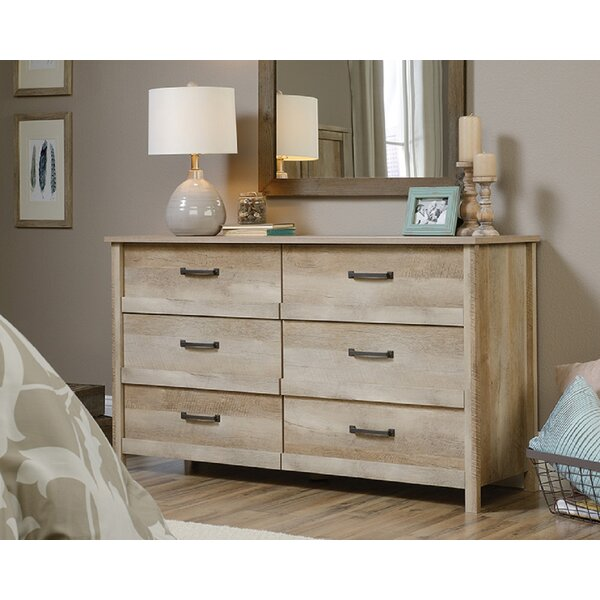 Collazo 6 Drawer Double Dresser by Foundry Select