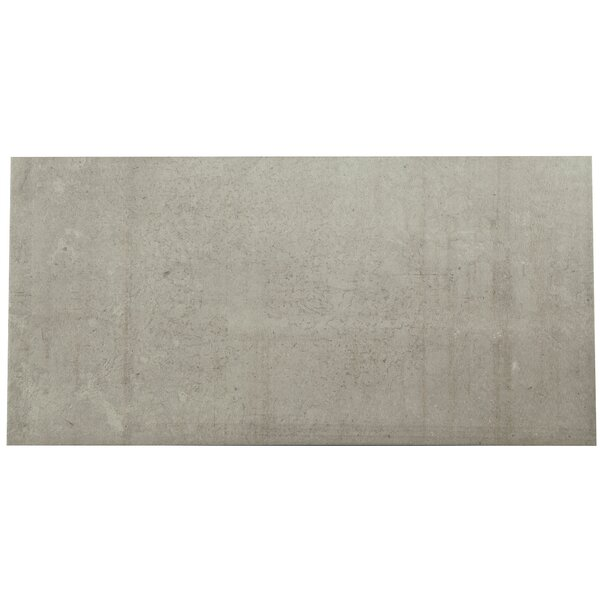 Citified 2 x 6 Porcelain Subway Tile in Pewter by PIXL