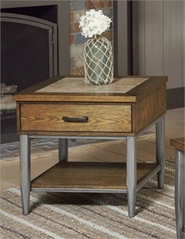 Hendricks End Table by Red Barrel Studio