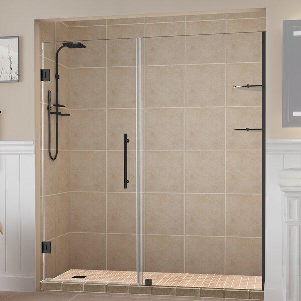Belmore GS 69 x 72 Hinged Frameless Shower Door by Aston