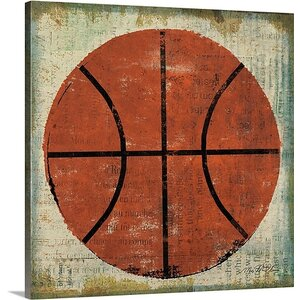 'Ball II' by Michael Mullan Painting Print on Canvas by Great Big Canvas