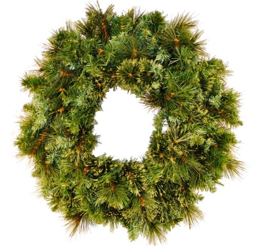 Blended Pine Wreath by The Holiday Aisle